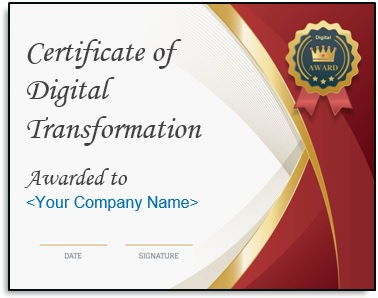 Digital Transformation Certificate